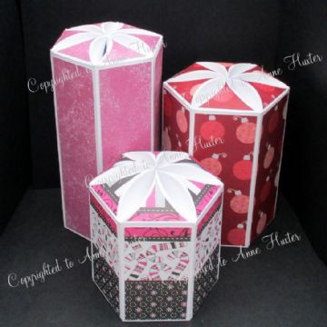 Petal Boxes - Set of 3 Templates